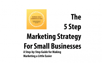 The 5 Step Marketing Strategy: Taking the Pressure Off Busy Marketers